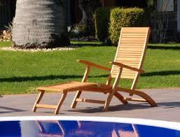 sedia sdraio giardino sedia sdraio in legno con poggia piedi da esterno arredo giardino