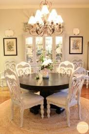 Distressed Black Dining Room Table Distressed Dining Chairs Foter