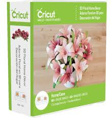 3d floral home decor cricut cartridge craftdirect com