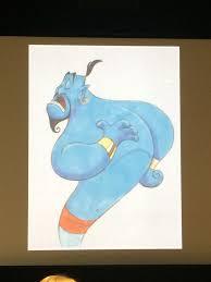 draw genie aladdin eric goldberg