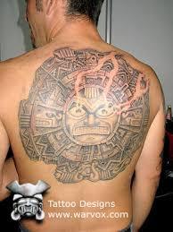 mayan sun aztec tattoos aztec mayan inca