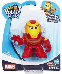 Potato Head Kit Disguise Potato Head Iron Man Mixable Mashable Heroes Potato Head