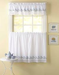 Curtains Kitchen Leighton Crochet Trim Kitchen Curtains Curtainworks Com