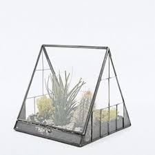 urban grow pyramid terrarium in gun metal from urban outfitters