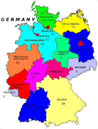 map of germany with states and capitals map of germany with states major tourist attractions maps