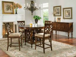 Dining Room Tables Set Standard Furniture Woodmont Round Counter Height Table Set In
