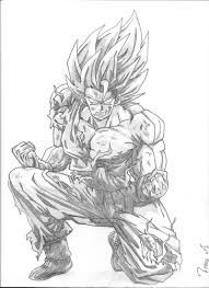 ball z goku super saiyan 5 coloring pages