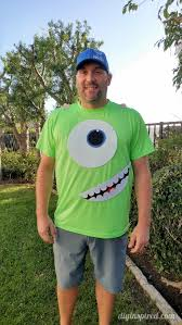 Mike Halloween Costume Diy Mike Wazowski Halloween Costume Diy Inspired