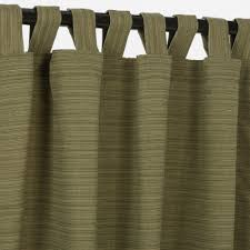 Sunbrella Outdoor Curtains 120 by Sunbrella Outdoor Curtain Panel With Tab Top Dupione Laurel
