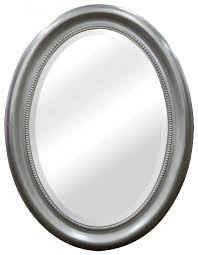 Brushed Nickel Mirror Bathroom by The Best Oval Mirrors For Your Bathroom Decor Snob