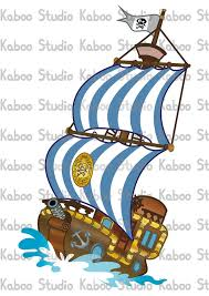 instant download clipart bucky pirate ship jake kaboostudio