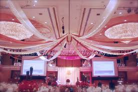 Ceiling Drapes With Fairy Lights Memories De Wedding Malaysia Corporate Event U0026 Wedding Planner