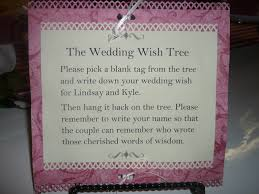 wishing tree sayings wedding money tree wording ginas gift archive the