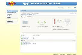 benutzeroberfläche fritz repeater avm fritz wlan repeater 1750e im test wlan netz mit wlan ac erweitern