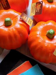 foam pumpkins one savvy nyc area easy dollar tree foam pumpkin