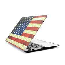 American Flag Keyboard Stickers Hard Case Protector With American Flag Style For Macbook Air 11 13