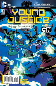 young justice young justice 14 under the surface issue