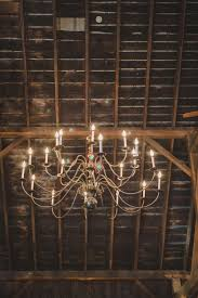 Rustic Wedding Chandelier Romantic Vermont Barn Wedding Styled Shoot U2014 Edera Couture Lace