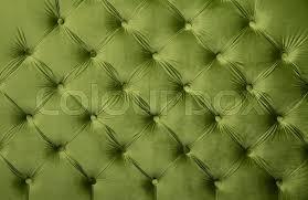 Retro Upholstery Green Velvet Capitone Textile Background Retro Chesterfield Style