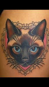siamese cat siamese cat tattoos