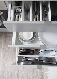 clever storage for a smart looking kitchen