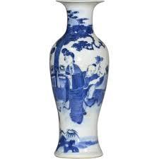 Large Chinese Vases Antique 19th Century Chinese Blue U0026 White Porcelain Baluster