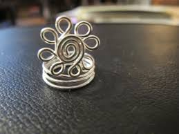 silver wire rings images Naomi 39 s designs handmade wire jewelry silver wire wrapped spiral JPG