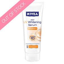 Nivea Serum Vit C uv whitening serum spf 25