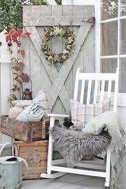 Cozy Front Porch Chairs On 10 Cozy Fall Farmhouse Porch Decor Ideas Wood Pumpkins Porch