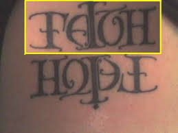 g u0027s faith hope tattoo