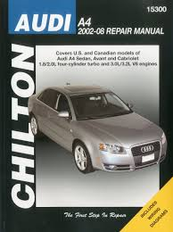 audi a4 sedan avant automotive repair manual 02 08 haynes