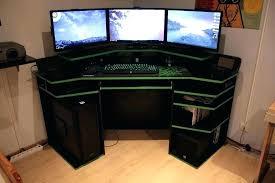Desk For Gaming Corner Gaming Desk Desks Small Best Ideas Interque Co