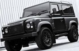 kahn land rover defender the land rover defender gets an intense custom makeover complex