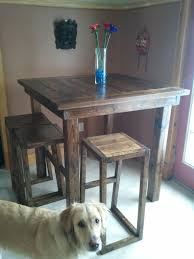 Bar Kitchen Table by Ana White Pub Style Table Diy Projects