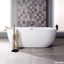 freestanding bath 1650 x 750mm double ended white acrylic this lisbon bath has a spacious and sumptuous design it has a very curved shape and smooth finished edges this bath would be a perfect compliment to the