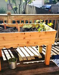 How To Build A Large Raised Garden Bed - cedar raised garden beds plans home outdoor decoration