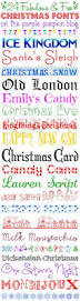 24 fabulous and free christmas fonts christmas fonts fonts and