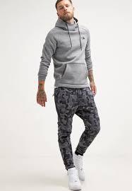 nike sportswear hoodie hoodie mottled grey nike men sweatshirts