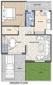 Architecture Design Floor Plans House Plan For 30 Feet By 45 Feet Plot Plot Size 150 Square Yards