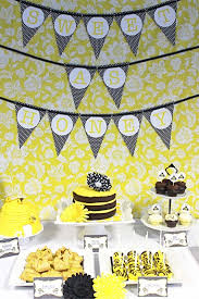 bumble bee baby shower theme trends my top 6 favorite bumble bee baby showers catch my party