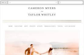 wedding rsvp websites gold bars wedding websites by fig and cotton minted