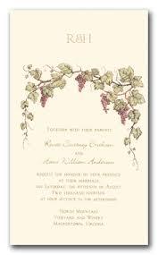 Winery Wedding Invitations Wedding Invitations Winery Theme Wedding Invitations