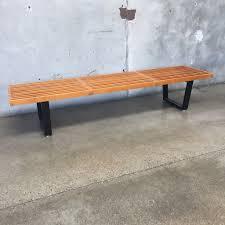 Slat Bench Coffee Table 1950 U0027s George Nelson For Herman Miller Slat Bench U2013 Urbanamericana