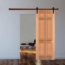steves u0026 sons 6 panel stained pine interior door slab with sliding