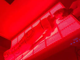 red light tanning bed reviews what laying in an led light therapy bed is really like allure