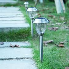 aliexpress com buy 8 pack solar lights stainless steel led