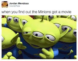 Toy Story Aliens Meme - toy story vs minions memes