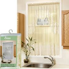 Hunter Green Kitchen Curtains by Lace Kitchen Door Curtains Curtain Design