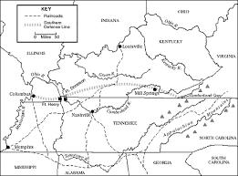 kentucky flag map kentucky american civil war map of battles