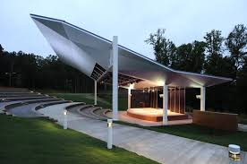 Shadee Awnings Piedmont College Amphitheaters 500 Seat Venue Outdoor